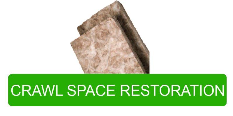Portland Oregon Crawl Space Restoration Photo