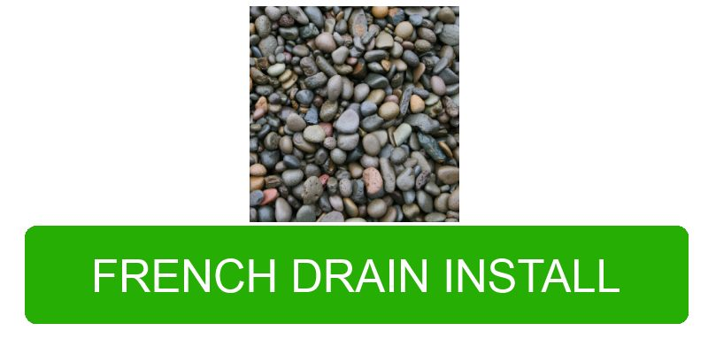 French drain contractor in Portland Oregon and Vancouver Washington